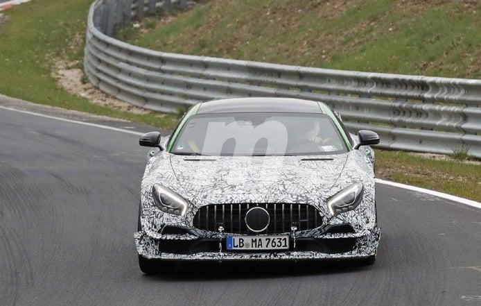 El nuevo Mercedes-AMG GT Black Series 2020 empieza sus pruebas en Nürburgring