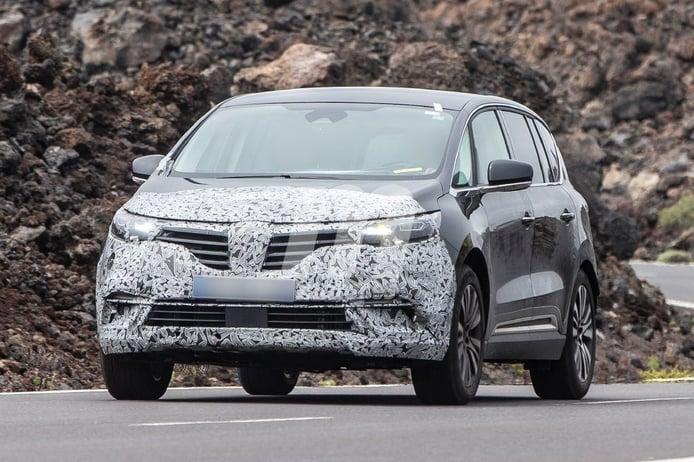 Las pruebas de la actualización del Renault Espace 2020 continúan en un nuevo escenario