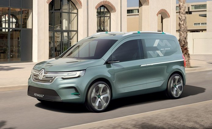 Renault Kangoo Z.E. Concept, adelanto de la nueva generación que llegará en 2020