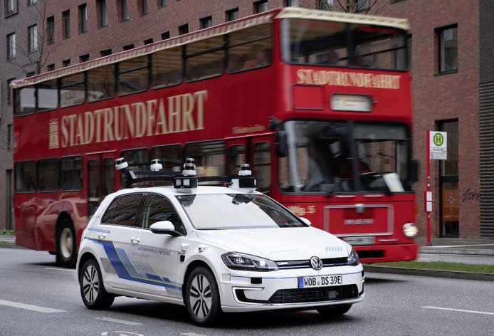 Volkswagen comienza las pruebas de prototipos autónomos de nivel 4