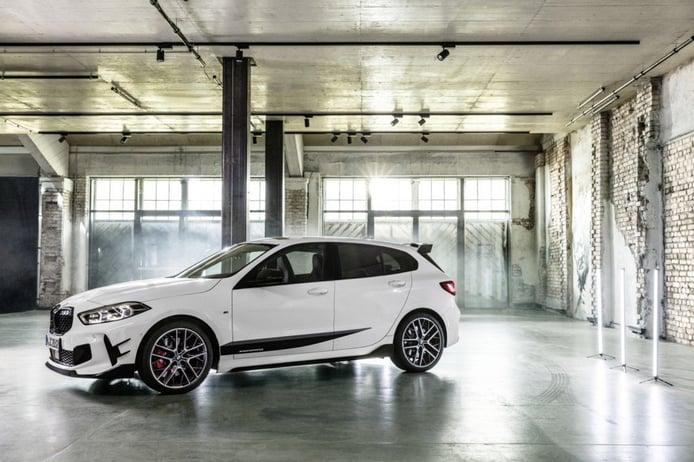 Más deportividad con los accesorios de BMW M Performance para el nuevo Serie 1