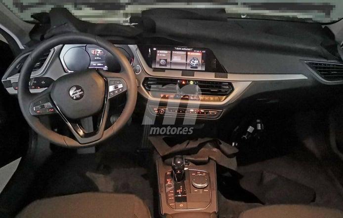 Primeras imágenes del nuevo salpicadero del BMW Serie 1 F40