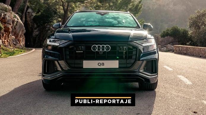 Desafíos Audi Q8: Versátil, robusto, elegante y... potente ¡MUY POTENTE!