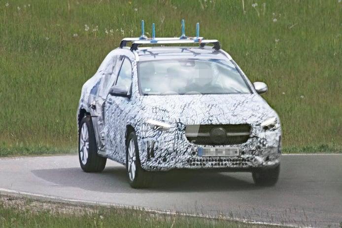 Nuevas fotos espía revelan un prototipo de pruebas del nuevo Mercedes GLA 2020