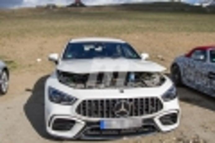 Primeras fotos espía del nuevo Mercedes-AMG GT 73 e Berlina, el híbrido en camino