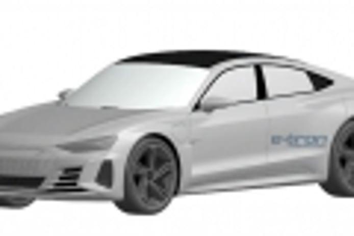 El aspecto del Audi e-tron GT de producción se filtra en unas patentes desde China