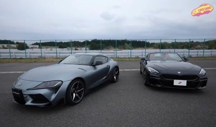 Los nuevos Toyota GR Supra y BMW Z4 frente a frente [vídeo]