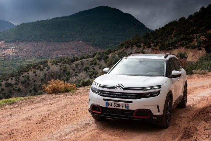 Francia - Abril 2019: El nuevo Citroën C5 Aircross ya está entre los más vendidos
