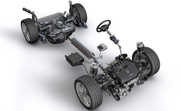 El nuevo Volkswagen Golf 8 usará tecnología semihíbrida de 48 voltios
