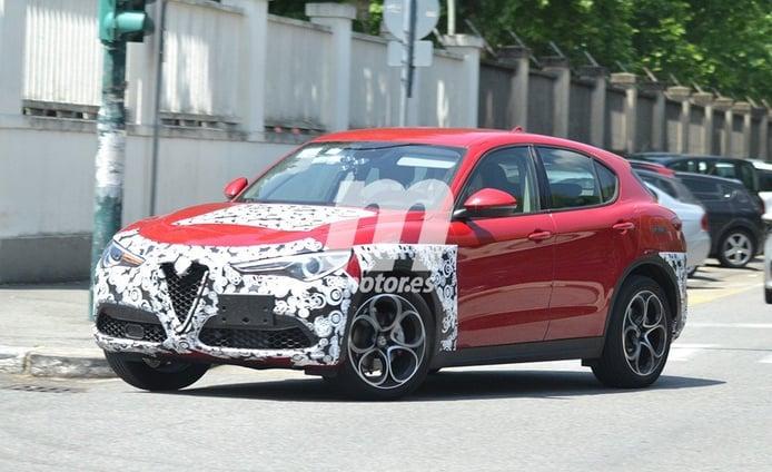 Alfa Romeo Stelvio 2020, la actualización del SUV italiano cazada una vez más