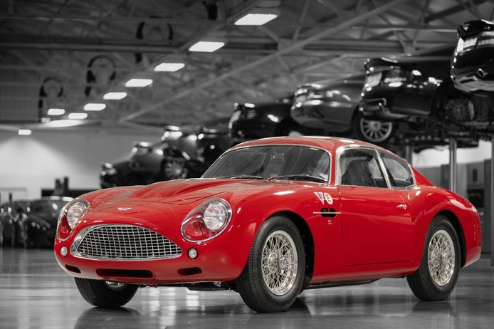 Aston Martin presenta el primer ejemplar del DB4 GT Zagato