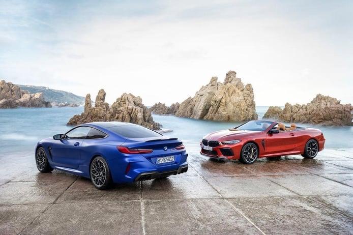 El BMW M8 Competition Coupé y Cabrio se presentan con 625 CV