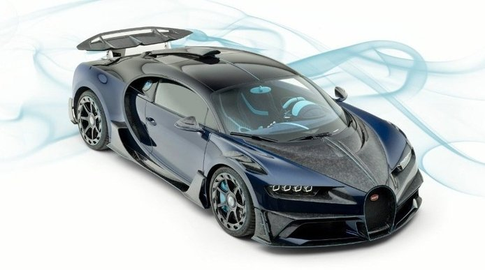 El hipervitaminado Bugatti Chiron Centuria de Mansory a la venta por 4.25 millones