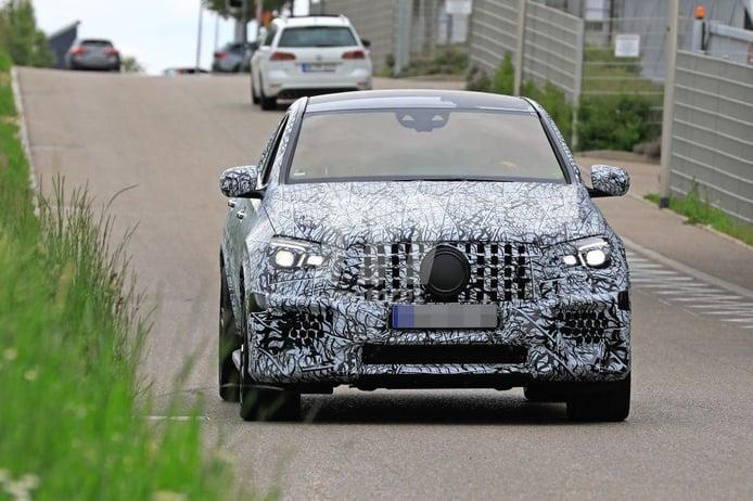 El nuevo Mercedes-AMG GLE 63 Coupé se deja ver en los alrededores de Nürburgring