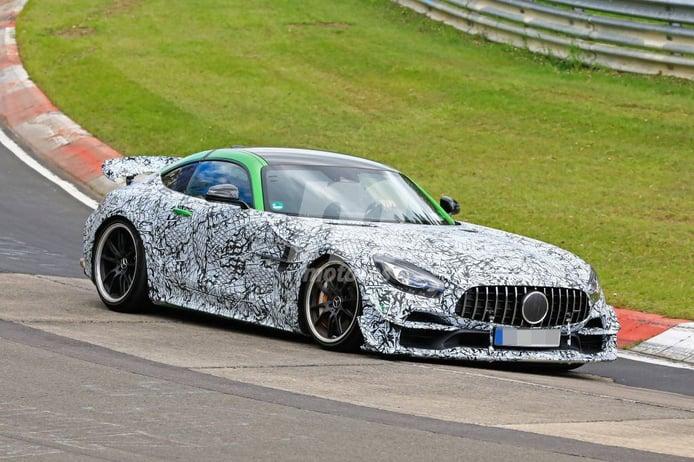 El nuevo Mercedes-AMG GT R EVO/Black Series avistado rodando en Nürburgring