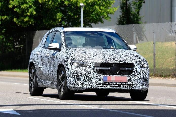 Los nuevos prototipos del Mercedes Clase GLA 2021 desde más cerca