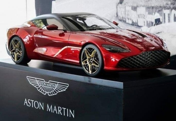 El Aston Martin DBS GT Zagato filtrado gracias a un modelo a escala