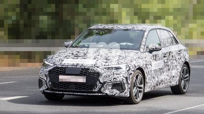 Nuevas fotos espía del nuevo Audi A3, el compacto de 5 puertas cada vez más cerca