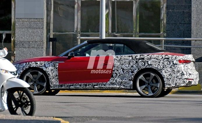 El nuevo Audi S5 Cabrio 2020 sale a pasear con el buen tiempo