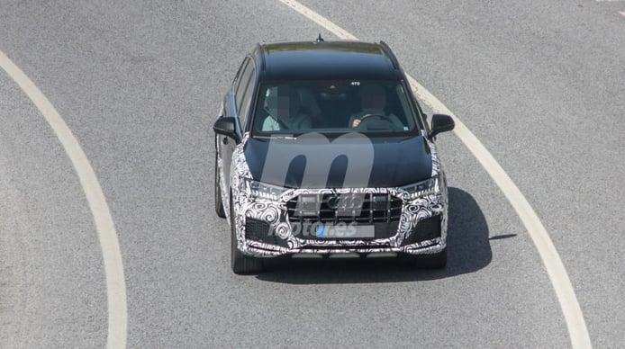 Nuevas fotos espía del Audi SQ7 2020, esta vez en las pruebas de calor