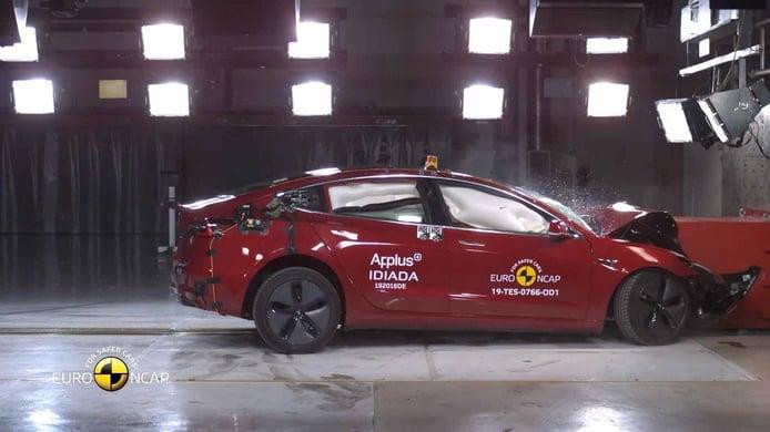 El Tesla Model 3 se lleva las cinco estrellas Euro NCAP
