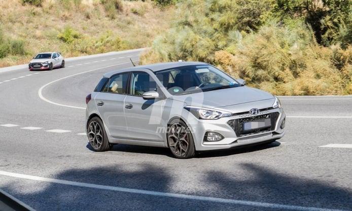 El esperado Hyundai i20 N se deja ver por España