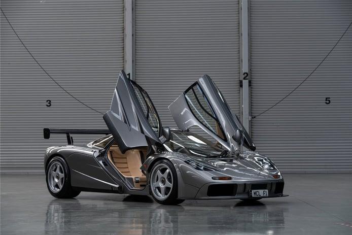 A subasta uno de los rarísimos McLaren F1 LM High Downforce Package