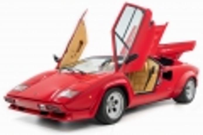 El Lamborghini Countach LP500 S de Mario Andretti a la venta