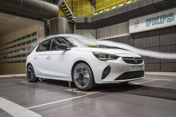 La aerodinámica es un aspecto clave en el nuevo Opel Corsa