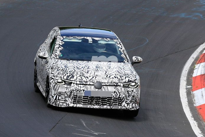 El nuevo Volkswagen Golf GTI 8 ya rueda a fondo en Nürburgring