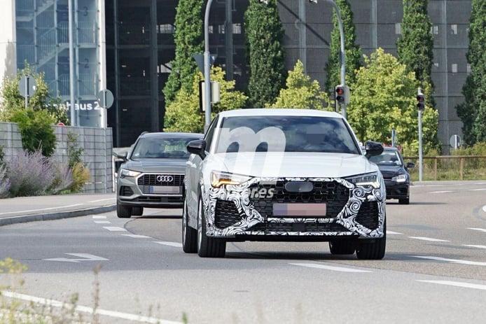El nuevo Audi RS Q3 Sportback 2020 destapa gran parte de su diseño deportivo