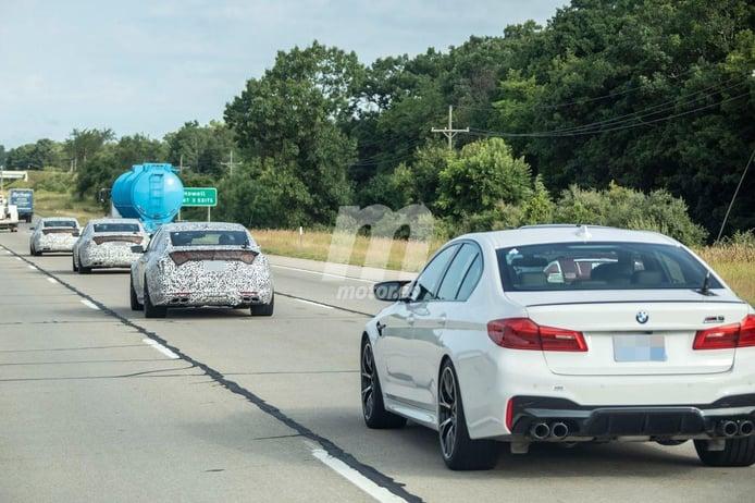 Cadillac prueba el nuevo CT5-V Blackwing junto al BMW M5