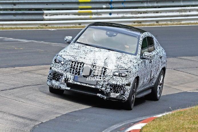 El nuevo Mercedes-AMG GLE 63 4MATIC Coupé irrumpe en el circuito de Nürburgring
