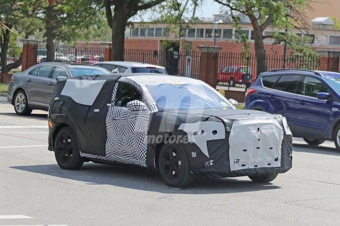 Cazamos al futuro Ford Mach-E con su carrocería definitiva