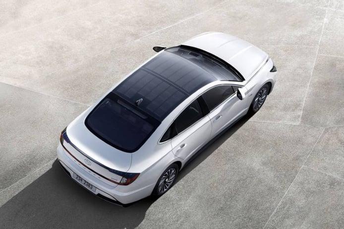 ¿Cuánta autonomía eléctrica da el 'techo solar' del Hyundai Sonata Hybrid?
