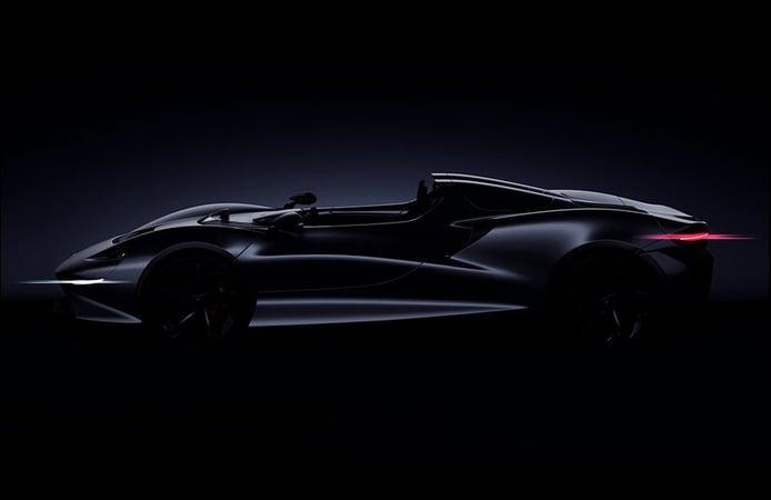 McLaren confirma su speedster a través de un teaser