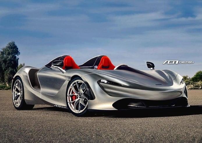 Primer render del futuro Speedster de McLaren