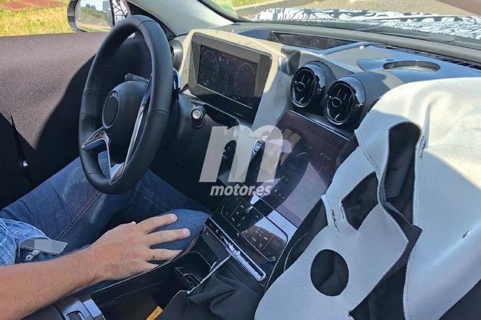 Cazan el interior del nuevo Mercedes Clase C 2021 durante unas pruebas en Nürburgring