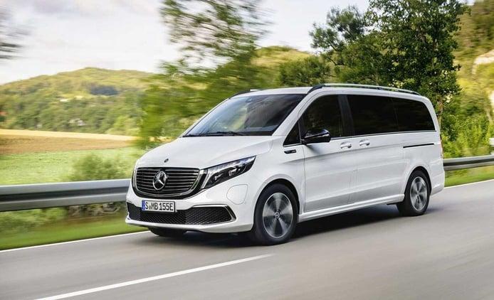 Mercedes EQV, entra en escena una nueva furgoneta eléctrica