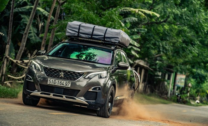 El Peugeot 3008 saca a relucir todas sus capacidades off-road