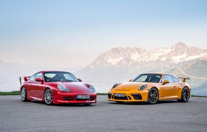 Porsche celebra el vigésimo aniversario del 911 GT3 con un espectacular vídeo