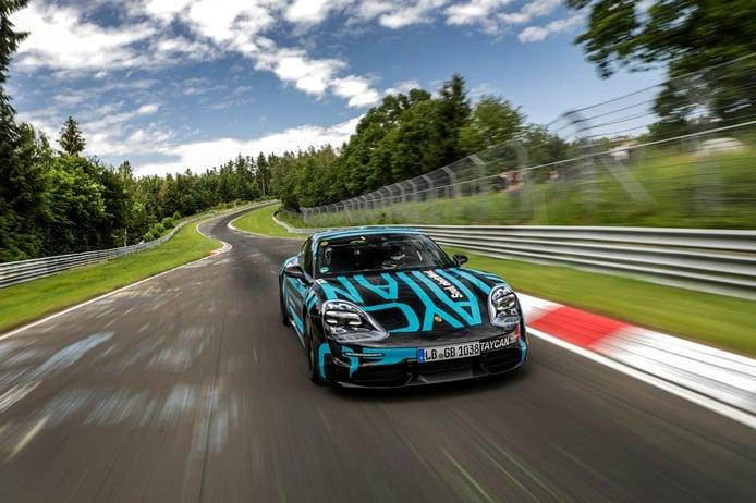 El Porsche Taycan establece un nuevo récord en el infierno verde