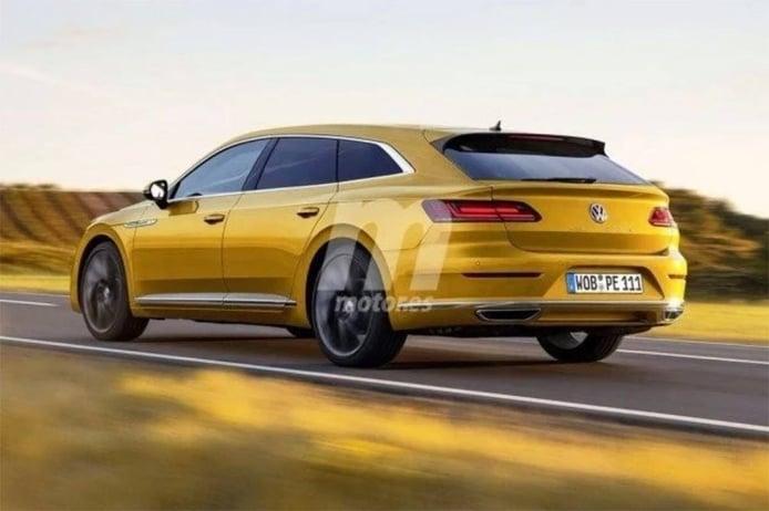 El futuro Shooting Brake de Volkswagen se producirá en la fábrica de Emden