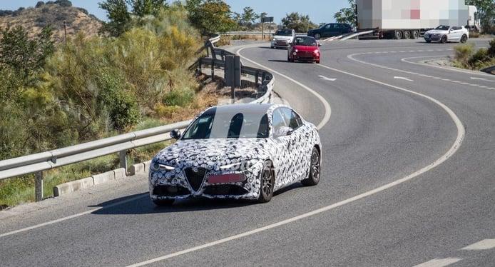 Alfa Romeo estrenará un revisado Giulia en noviembre, con más equipamiento