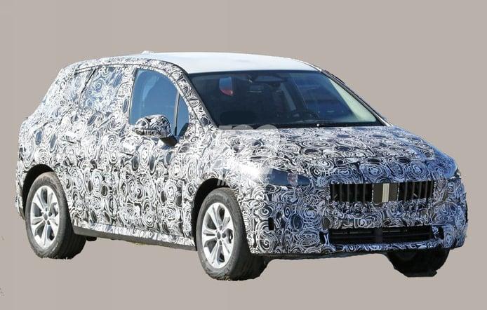 BMW Serie 2 Active Tourer 2021, primeras fotos espía de la segunda generación