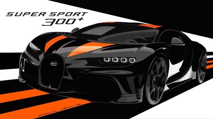 Bugatti confirma la llegada de nuevas variantes del Chiron