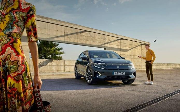 BYTON desvela toda los datos del nuevo SUV M-Byte en el Salón de Frankfurt 2019