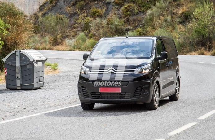 La variante eléctrica de la Citroën Jumpy comienza sus pruebas en carretera