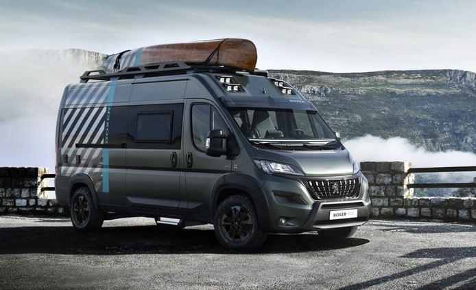 Peugeot Boxer 4x4 Concept, para las familias más aventureras