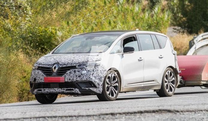 El nuevo Renault Espace 2020 ha perdido camuflaje